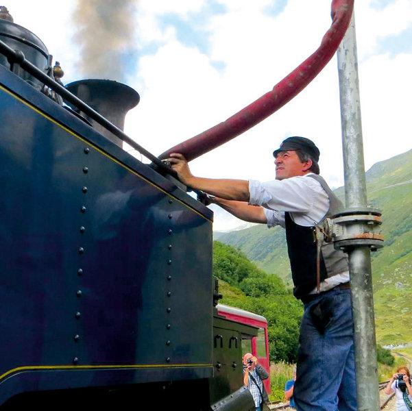 Flüematte - Dampfbahnromantik in der Schweiz