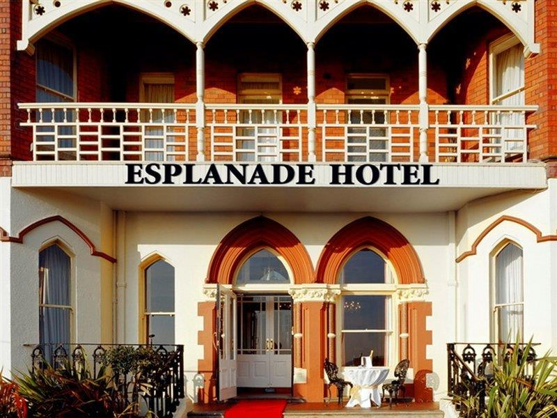 The Esplanade Hotel on the Seafront